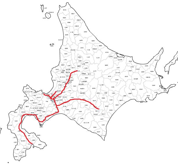 JR北海道路線