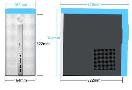 468_HP Pavilion 510-p100jp_サイズ比較