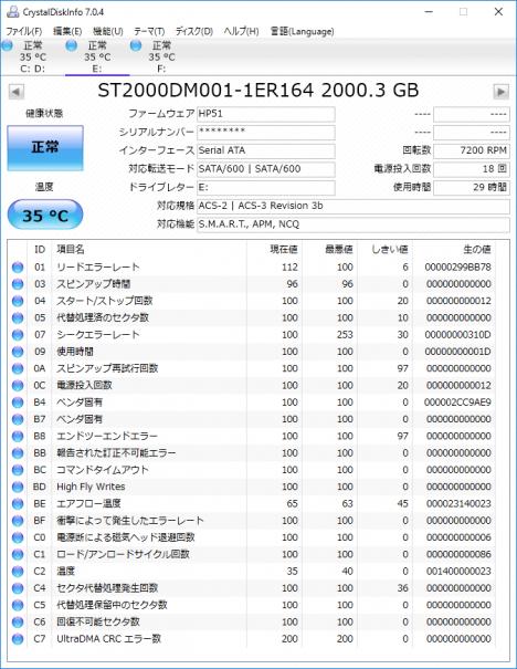 OMEN by HP 870-000jp_CrystalDiskInfo_2TB HDD_2nd
