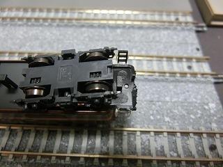 デッキに穴を開けたマイクロ三岐鉄道電機