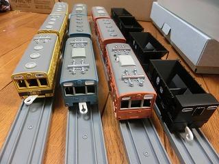 秩父鉄道 電車と貨車の並び④