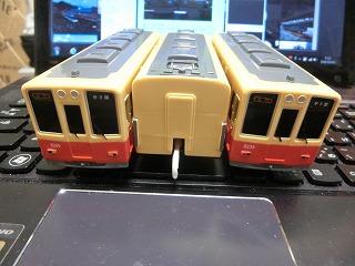 阪神電車8000系(赤胴車) 前面