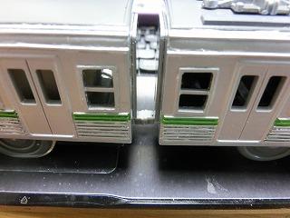 「ACEカプラーⅡ」にした「岳南電車8000系プラレール」連結間隔