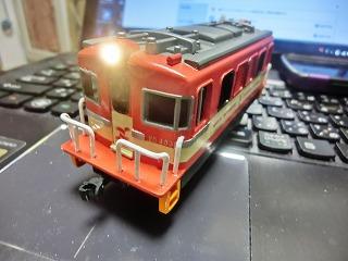 ライト点灯化工事完了の「岳南電車 ED403」