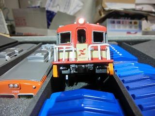 ライト点灯化工事完了の「岳南電車 ED403」②