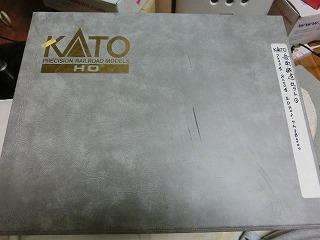 これまで使用していたKATO製のHOゲージ用ケース