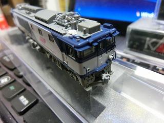 ナックルカプラーに交換した「EF64-1000 JR貨物新更新色」