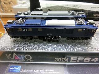 全てのパーツ取付が終った「EF64-1000 一般色 クーラー搭載車」②