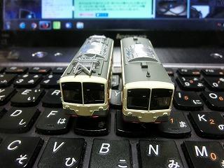 2両編成になった上信電鉄500形のBトレ②