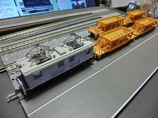 近江鉄道 工事列車風②