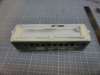 屋根の加工を行ったキハ5000