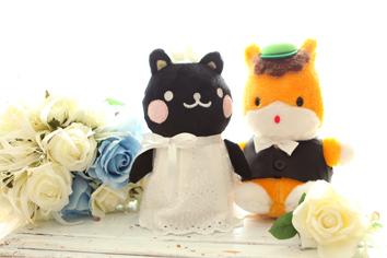 ウエディングフォト婚礼写真結婚mおまけぐんまちゃんとコクトちゃん