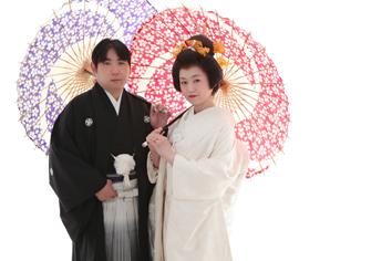 ウエディングフォト婚礼写真結婚n2着白無垢かつら