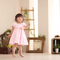 キッズフォト子供写真展群馬伊勢崎りんちゃん衣装ドレス