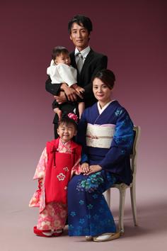 まゆちゃんご家族写真