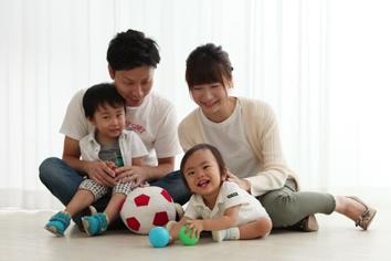 るいくん1歳記念伊勢崎写真館家族写真