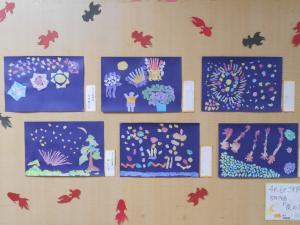 金魚と花火2016