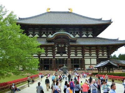 東大寺についたー