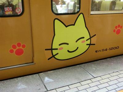 尾道からの電車