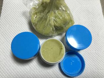 ドクダミ軟膏とジャガ芋5