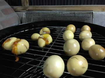 燻製卵と豆腐5