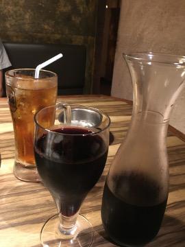 ワインたっぷり