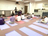 1609京都市聴覚障害者協会 特別ヨガクラス WS01 京都ヨガ アナオヨウコ