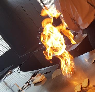 鉄板焼きランチ