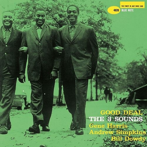 The Three Sounds Good Deal Blue Note BLP 4020