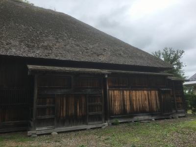 復元代官所の建物(正面東側)