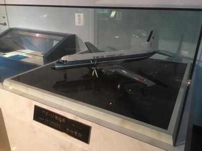 YS-11の縮尺モデル