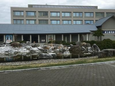 歴史館の外観の西側