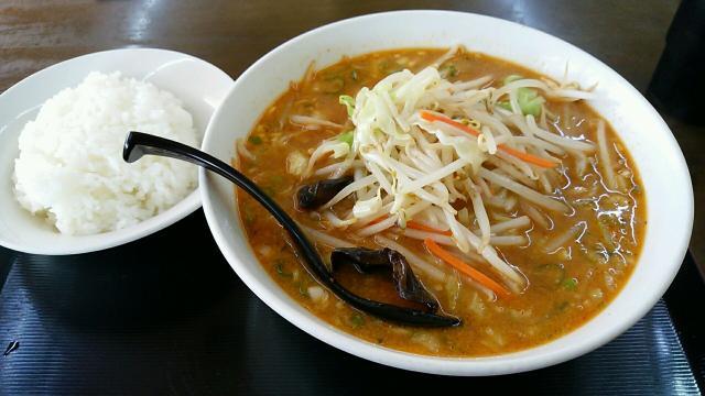 野菜味噌ラーメン