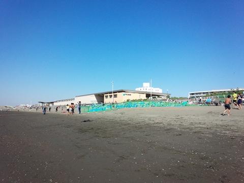 花火大会・江の島水族館裏