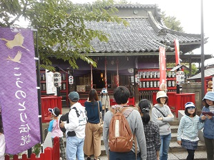 ⑫おおとりまつり 20161016 鴻神社本殿