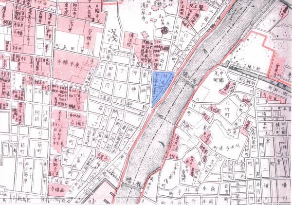 江戸時代の浅草地図