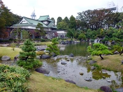 富山城_庭園