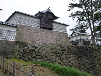 金沢城_ニラミ櫓台