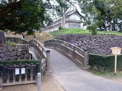 金沢城_極楽橋