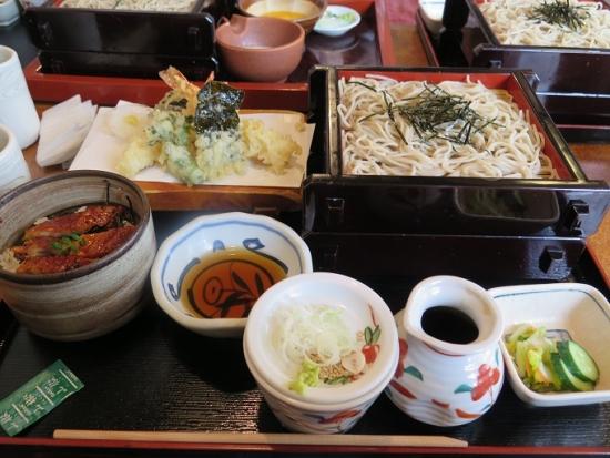 選べる小丼 天ざるセット(うなぎ小丼)