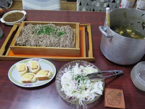 常夜鍋リサイクル蕎麦