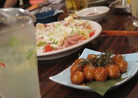 北海道十勝産チーズのポテト明太子焼き