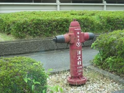 袋井市役所前 消火栓