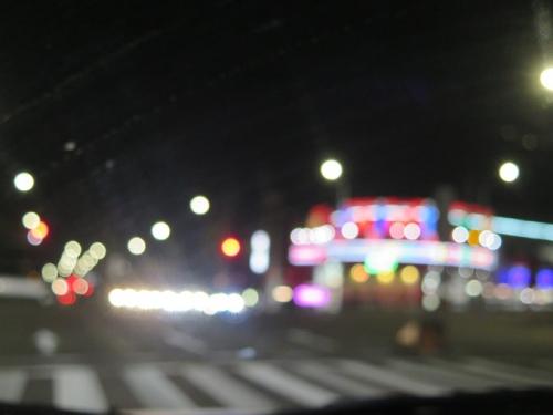 名古屋夜景 視力0.1以下の世界