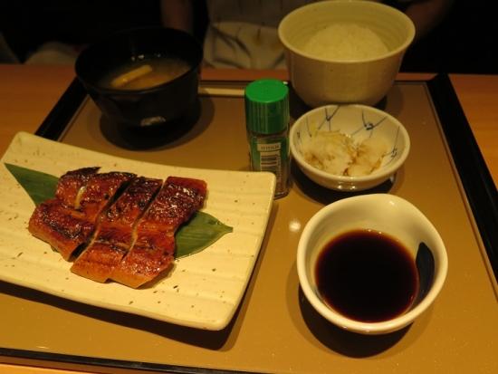 鰻の蒲焼定食