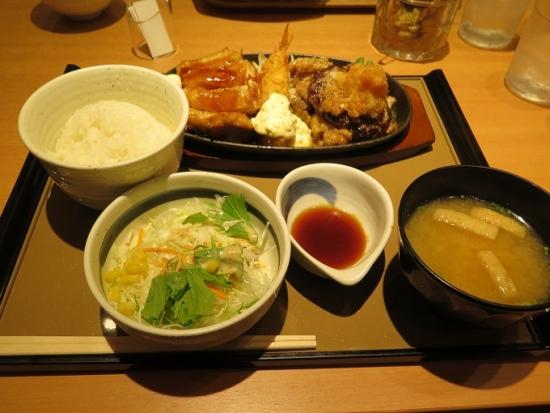 スペシャルグリル定食