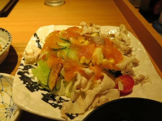 彩野菜の豚しゃぶ定食