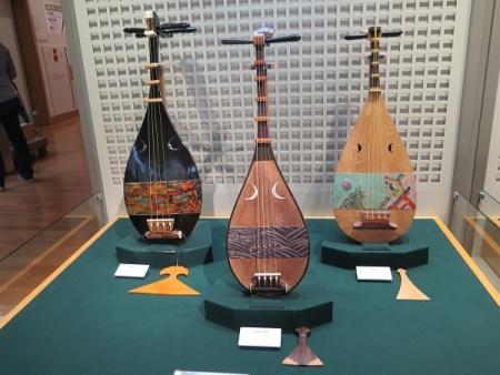 楽器博物館 琵琶