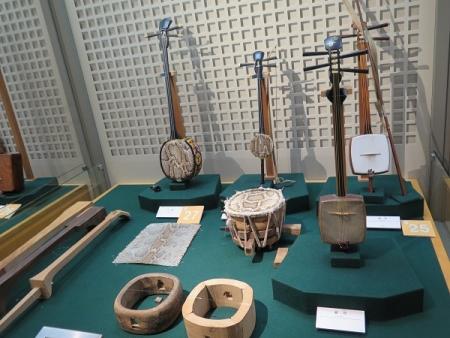 楽器博物館 三線