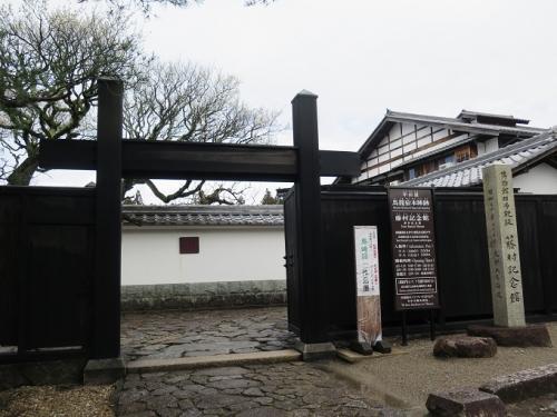 中山道 馬籠宿 藤村記念館